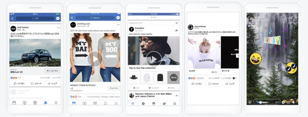 facebook広告で利用できる広告フォーマット